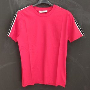 Givenchy Red Short Sleeve Cotton T-Shirt